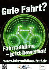 Logo ADFC Fahrradklimatest 2014
