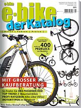 Cover des E-Bike-Katalog 2015