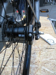 Bild der Automatix-Nabe am Vanmoof Electrified