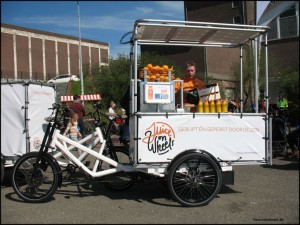 Foto der mobilen Saftbar Juice on wheels