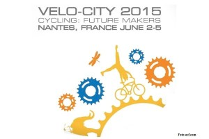 Logo der Velo-City 2015 in Nantes