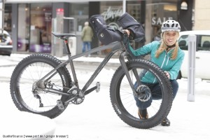 Fatbike im Winter