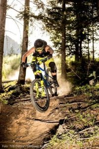 Gronerwald-Trail_Mountainbiken in Osttirol