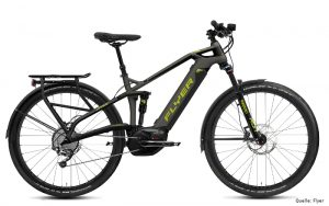 FLYER_E-Bikes_Uproc3_Fullsuspension_415_slategreylimegreen