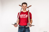Silca-Fahrradpumpen