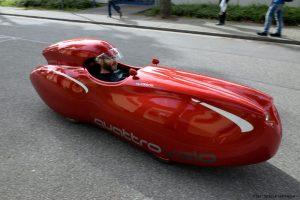 Spezialradmesse Velomobil quattrovelo