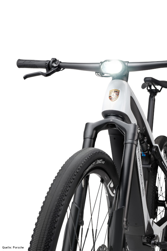 Porsche eBike SPORT_Super Nova_front light